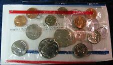 1989 P&D Mint Set Brilliant Uncirculated US Coins In OGP W/ Envelope & COA