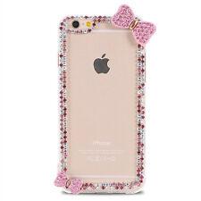 Glitter Crystal Bling Rhinestone Diamonds hard back PC Shell Phone Case Cover #J