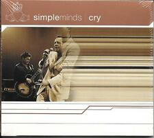 CD DIGIPACK 2 TITRES SIMPLE MINDS CRY 2002 NEUF SCELLE GERMANY