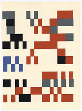 Sophie Taeuber-Arp 1953 serigraph