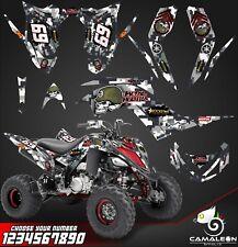 Yamaha Raptor 700R graphics kit 2013 2019 decals stickers kit atv