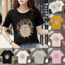 Funny Hedgehog Baby Toy Print T-Shirt Men-Women Kids Unisex-- J6B6 Q6H9