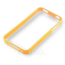 Funda Bumper para iPhone 4S Color Naranja  a1157