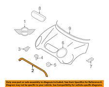 MINI OEM 07-15 Cooper Hood-Front Molding Trim 51132751040