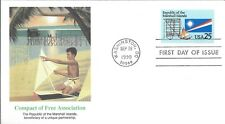 MARSHALL ISLANDS FREE ASSOCIATION FDC  - FLEETWOOD CACHET - NICE!