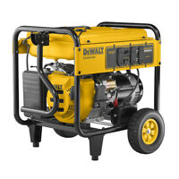 DeWALT 7000 Watt Portable Generator (reconditioned) | Electric Start | 49-State