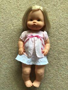 VGC - Hard Bodied 15 Inch Baby Girl Doll