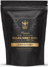 Manuka South Manuka Honey Drops / lozenges UMF 15+ Honey + Lemon +Propolis (50)