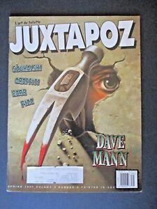 Signed Glenn Barr Juxtapoz 1997 #10 Szukalski Mann Samaras Pizz Graffiti Art