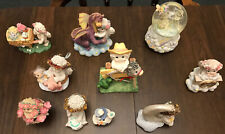 Vintage Dreamsicles Dreamsicle figures figurines angels cherubs snow globe