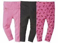 Girls leggings Pink Sparkles Bow ZIP Grey 12 24 m 2 3 4 5 6 age Pink Cotton-Rich