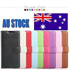 Wallet Leather Flip PU Card Holder Case Cover For HTC Desire 650 + Screen Guard