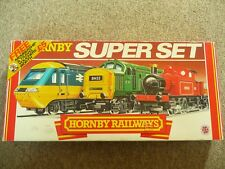 HORNBY R696 INTER CITY ( XPT) SUPER TRAIN SET - VERY RARE !!