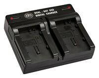 BM Premium Dual Bay Battery Charger for BP-819, BP-820, BP-827, BP-828 Batteries
