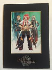 Tales of the Abyss Limited Edition Laser Cel Bandai Namco Games 2005-06 Anime