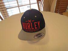 Hurley Cap Hat snapback Men's adult NEW OSFM navy blue surf skate red classics