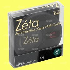 Genuine Kenko 52mm Zeta CPL Circular Polarizing filter CIR C-PL(W) Polarizer