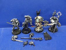 2 Grey Knight psioniker + 2 Grey Knights en servorüstung transformación