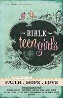 NIV Bible for Teen Girls : New International Version, Hardcover by Zondervan ...