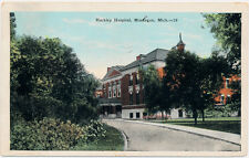 MUSKEGON MI – Hackley Hospital - 1929