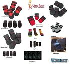 DOG BOOTS ULTRA PAWS Socks Durable All Weather Repellent Traction Rugged Set 4