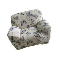 1-Seater Floral Modern Stretch Sofa Slipcover Protector Soft Couch Cover #18