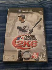 Nintendo Gamecube 2K Sports Major League Baseball MLB 2K6 TESTED free shipping