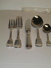 Auerhahn fine 100G silverplate 1-5pc. place setting new perfect cond.