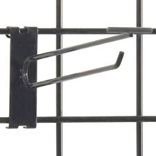 Gridwall Scanner Hook 8 Inch in Black finish - Count of 100