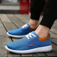 US Men's Sports Running Breathable Shoes Casual Walking Lightweight Sneakers ~