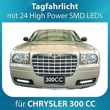 LED de circulación diurna chrysler 300cc con control & DIMM función Registro libre