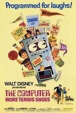 THE COMPUTER WORE TENNIS SHOES Movie POSTER 27x40 Kurt Russell Cesar Romero Joe