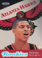 Roshown McLeod 1998-99 Fleer Ultra #104 RC Atlanta Hawks Rookie card