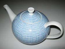 Arzberg Teekanne Bastdekor blau Löffelhardt 1 Liter