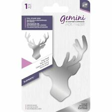 Crafter's Companion Gemini Hot Foil Stamp Die - Elements - Stag Head