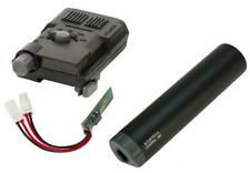 Airsoft xcortech x3300w tracer unit torch bb's chronograph mosfet all in 1 black