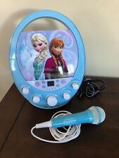 New listing Disney Frozen Fantastical Karaoke Machine Excellent Condition With Cd