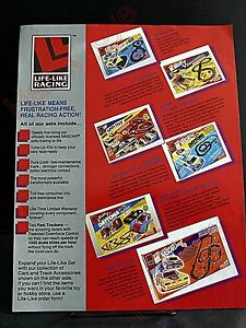 Life Like 1993 Slot Car Brochure Cars Sets