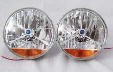 "2X7"" Hot Rod Tri-bar Headlight Conversion kit w/ H4Halogen Bulb & Turning light"