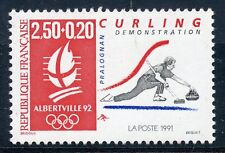 STAMP / TIMBRE FRANCE NEUF N° 2680 ** SPORT / CURLING JEUX OLYMPIQUES ALBERVILLE