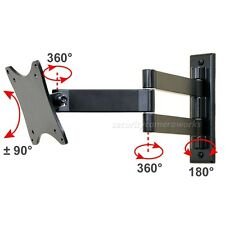 Swivel Tilt TV Wall Mount for DELL LG SHARP SAMSUNG 22 23 24 26 27 28 29 LED b02