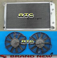 3 Row Aluminum Radiator & Fans for 1968-1973 Chevy Chevelle L6 V8 68 69 70 71 72