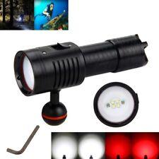 Photography 6x Xm-l2 LED Diving Scuba Flashlight Fishing Torch Underwater 100m