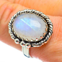 Rainbow Moonstone 925 Sterling Silver Ring Size 10 Ana Co Jewelry R47030F