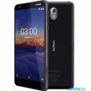 Nokia 3.1 Smartphone AndroidOne 4G Black Unlocked