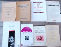 Lot 8 livres Proudhon Grands philosophes Psychonévroses M Blondel Mondialisation
