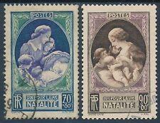 CO - TIMBRE DE FRANCE N° 440 et 441 oblitérés