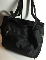 Brand New Ladies Women Black microfiber shoulder bag handbag shoulder Tote