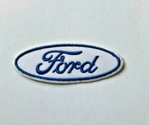 Ford Car Racing Embroidered Iron On Sew On Patch Badge For Clothes Bags etc