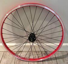 """Alex Rims DM24-26"""" Disc Front Wheel"""